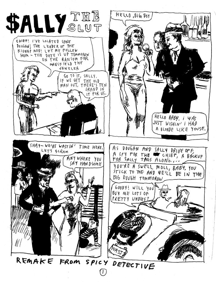 SPICY STORIES – Sally the Slut – by Ian Sundahl | Study Group Comic