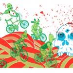 Cycle Summer print