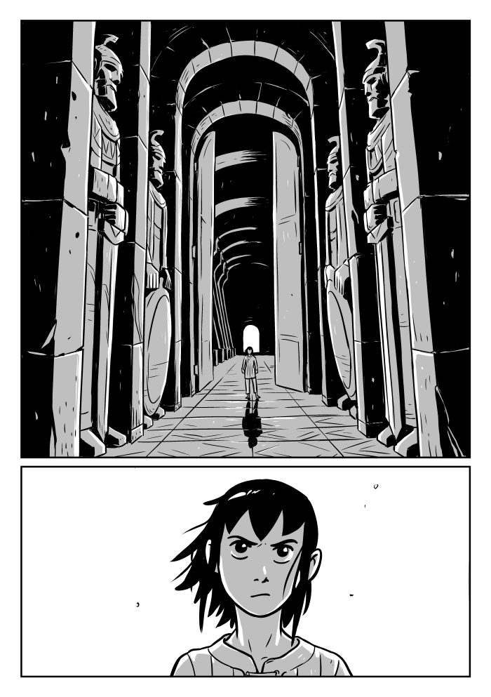 Stonebreaker Chapter 2 page 1 by Peter Wartman