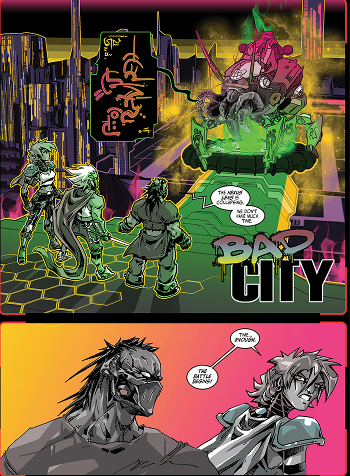 Bad City by Dimi Macheras and Casey Silver Page 5