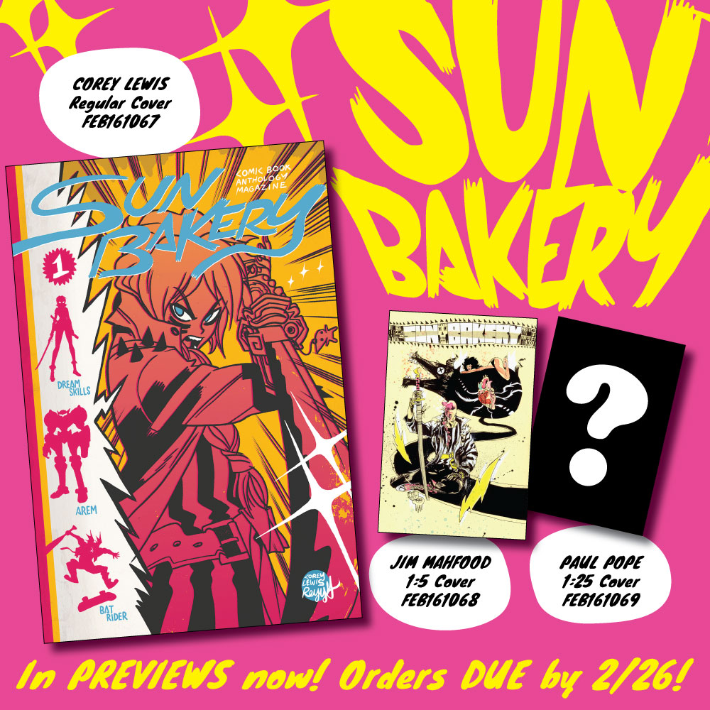 Preview: Sun Bakery #1 by Corey Lewis | Study Group Comic Books