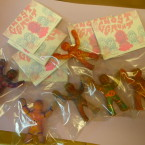 All packaged up! A bad photo, but they look cool.