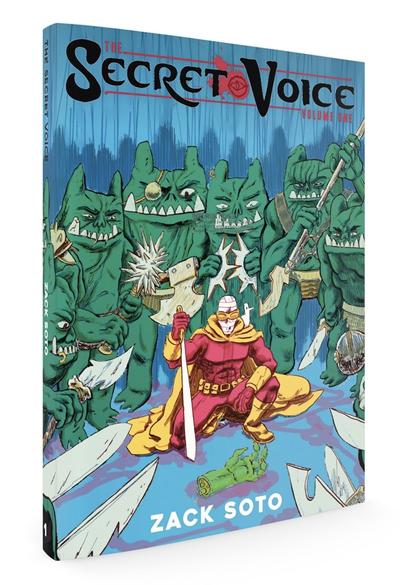 Zack Soto is creating Sci-Fi/Fantasy Comics (The Secret Voice & more